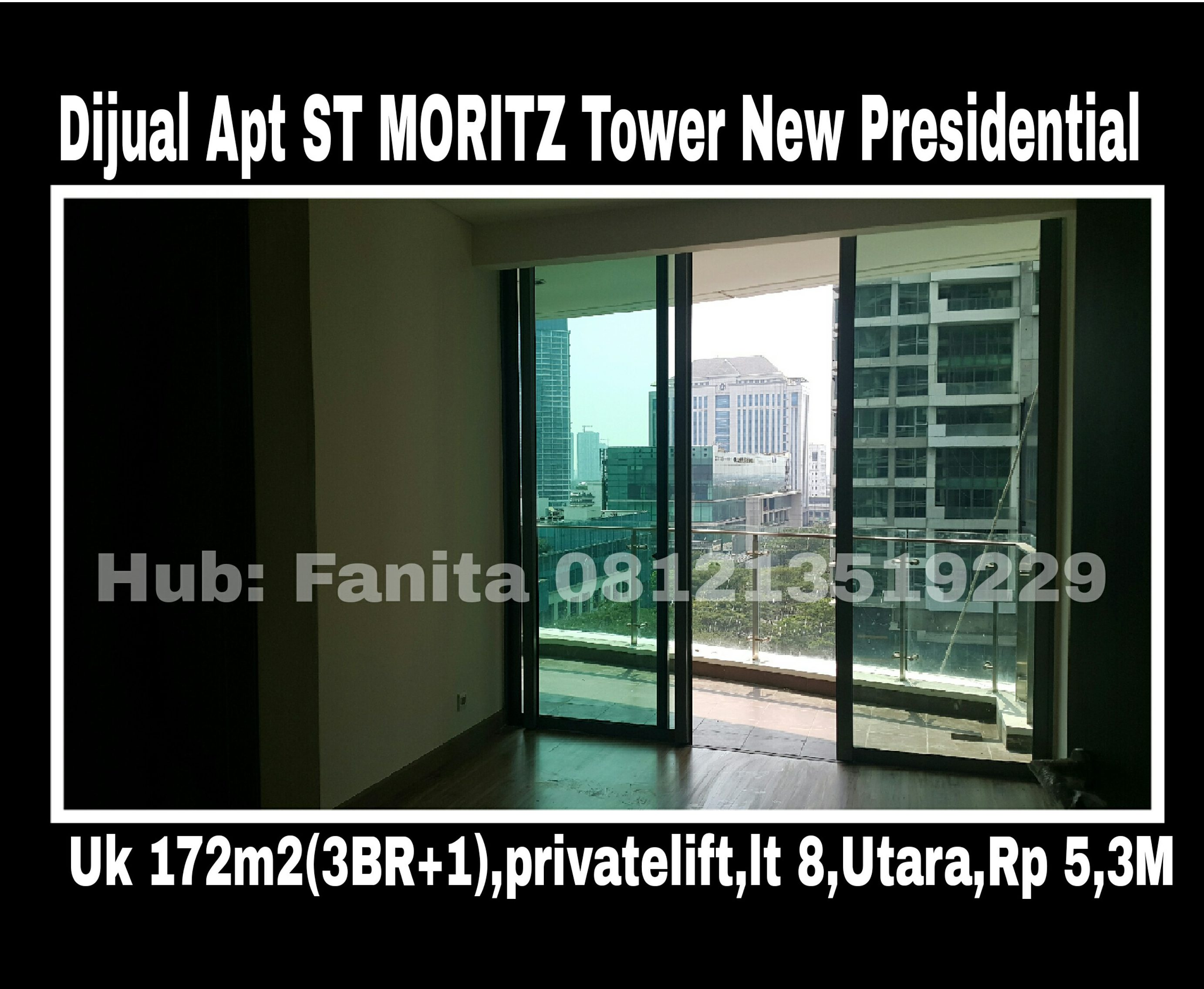 Apt ST MORITZ Tower Terbaru New Presidential Uk 172m2 di ...