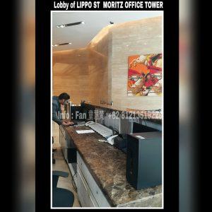 For rent Lippo ST MORITZ Office West Jakarta
