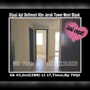 Dijual Apartemen Bellmont Residence Jakarta Barat