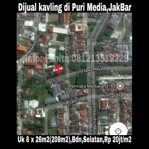 Dijual Kavling di Jakarta Barat