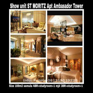 Show unit St Moritz Apartment Jakarta Barat