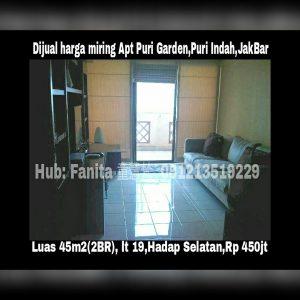 Dijual apartment di Jakarta Barat
