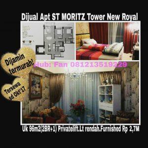 Dijual apartmnet di Puri Indah Jakarta Barat
