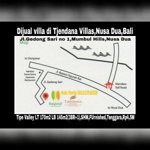 Dijual villa di Nusa Dua Bali