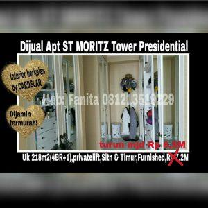 Dijual apartment di Puri Indah Jakarta Barat