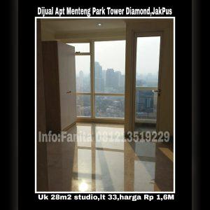 Dijual apartment di Jakarta Pusat