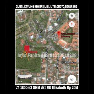 Dijual tanah komersil di Semarang