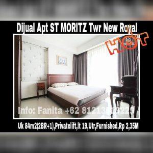 Dijual apartment St Moritz Puri Indah Jakarta Barat