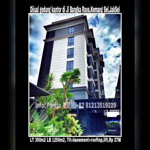 Dijual gedung kantor di Jakarta Selatan