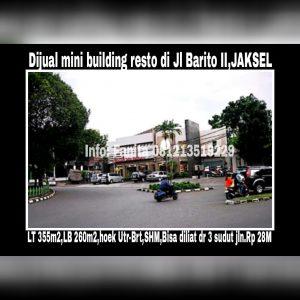 Dijual gedung resto di Jakarta Selatan