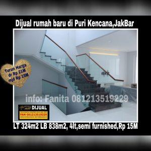 Dijual rumah baru di Puri Kencana Jakarta Barat