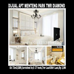 Dijual Apartemen Menteng Park Jakarta Pusat