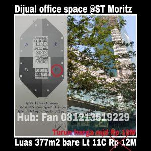 Dijual kantor di Puri Indah Jakarta Barat