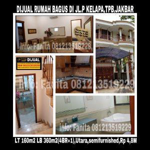 Dijual rumah di Taman Permata Buana Jakarta Barat