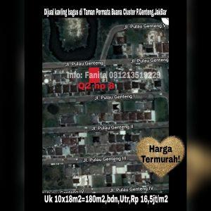 Dijual kavling di Taman Permata Buana Jakarta Barat