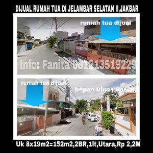 Dijual rumah di Jelambar Jakarta Barat
