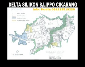Dijual kavling industry di Delta Silikon 8 Lippo Cikarang
