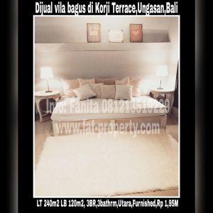 Dijual vila bagus dan murah di Korji Terrace,Ungasan,Bali.