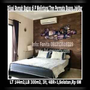 Dijual rumah bagus di Taman Permata Buana di cluster baru,Jl Pulau Melintang,Jakarta Barat.