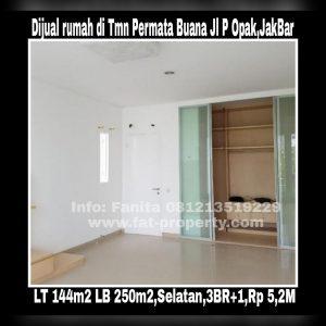 Dijual rumah bagus di Taman Permata Buana di cluster baru,Jl Pulau Opak,Jakarta Barat.