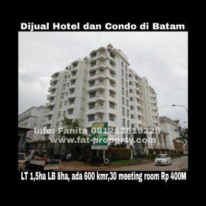 Dijual Hotel & Condo di Batam.
