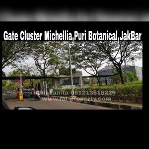 Dijual kavling bagus di Puri Botanical,Cluster Michellia,Jakarta Barat.