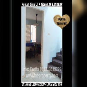Dijual rumah siap huni di Taman Permata Buana tahap II,Jl Pulau Tidung,Jakarta Barat.