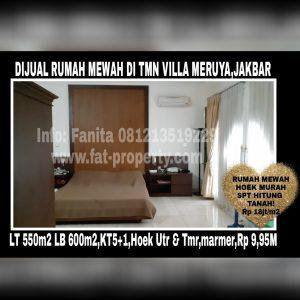 DIJUAL rumah mewah di Taman Villa Meruya,Jakarta Barat.
