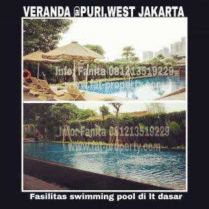 Dijual Apartemen Veranda Residence Puri Indah,Jakarta Barat.