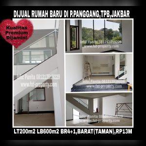 Dijual rumah baru mewah bagus di Taman Permata Buana di cluster baru,Jl Pulau Panggang,Jakarta Barat.