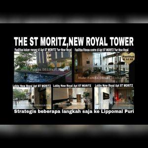 Dijual Penthouse ST MORITZ New Royal Tower Puri Indah Jakarta Barat