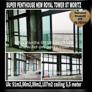 Super Penthouse ST MORITZ di Tower New Royal lt 38