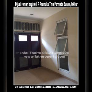 Dijual rumah bagus di Taman Permata Buana di cluster baru,Jl Pulau Pramuka,Jakarta Barat.