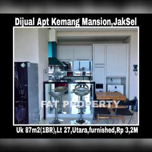 Dijual Apartemen Kemang Mansion,Jakarta Selatan.