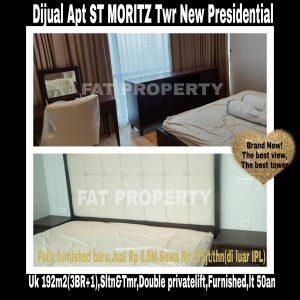 Apartemen ST MORITZ Jl Puri Indah,Jakarta Barat.