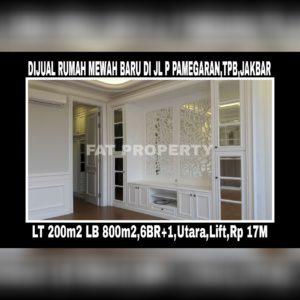 Dijual rumah di Taman Permata Buana, Jl Pulau Pamegaran,Jakarta Barat