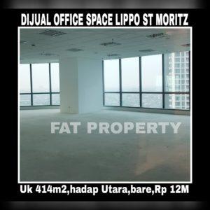 DIJUAL Office Space di kompleks paling bergengsi dan terkomplit di Jakarta Barat