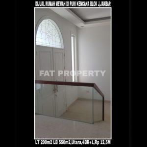 Dijual cepat rumah baru mewah klasik modern di Puri Kencana Blok J,Jakarta Barat.