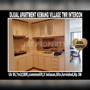 Dijual Apartement Kemang Village, Jl. Pangeran Antasari No. 36 Kemang,Jakarta Selatan.