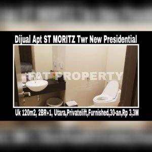 Dijual Apartment ST MORITZ Jl Puri Indah,Jakarta Barat Tower New Presidential