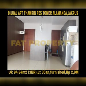 Strategic Apartment in Jakarta for sale!