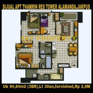 Strategic Apartment in Jakarta for sale!