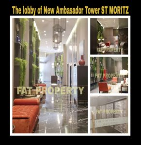 Dijual Apartment ST MORITZ Tower terbaru dan terlengkap: New Ambasador.