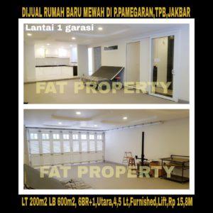 Dijual rumah di Taman Permata Buana, Jl Pulau Pamegaran,Jakarta Barat.
