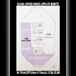 DIJUAL Office Space di kompleks paling bergengsi dan terkomplit di Jakarta Barat siap dipakai