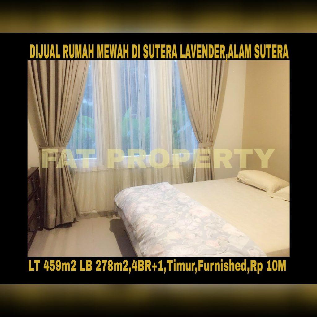 Dijual rumah bagus di Sutera Lavender,Alam Sutera,Serpong.