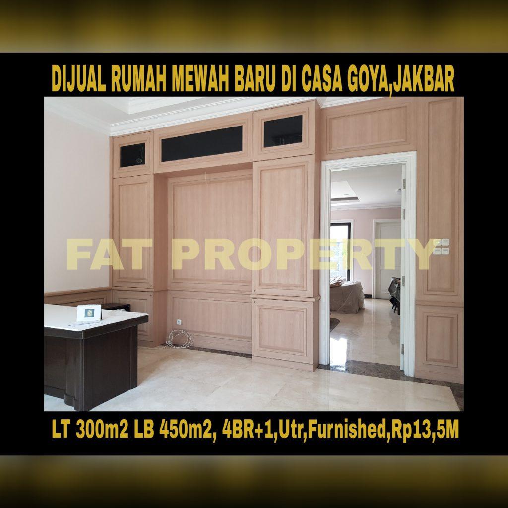Wowww rumah mewah baru super keren di lingkungan elite dlm cluster : Casa Goya,Kebon Jeruk,Jakarta Barat: