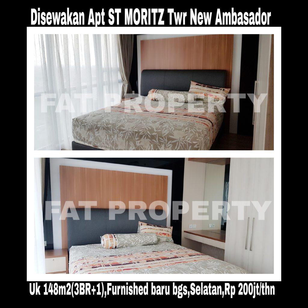 Disewakan: Apartemen ST MORITZ @Jl Puri Indah, Jakarta Barat.