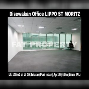 Disewakan Office Space di kompleks paling bergengsi dan terkomplit di Jakarta Barat