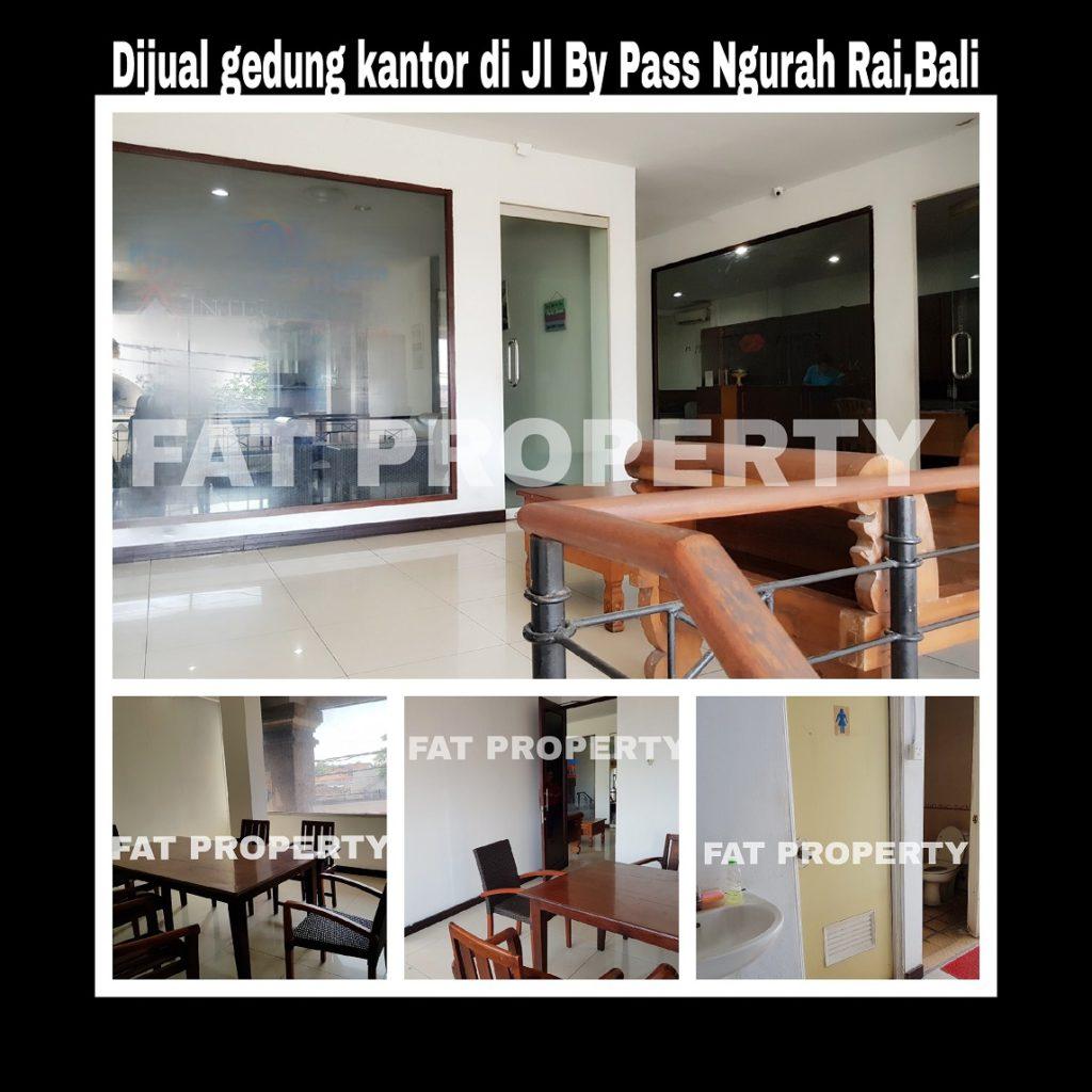 Dijual gedung kantor bagus di pinggir jalan Jl By Pass Ngurah Rai,Bali.